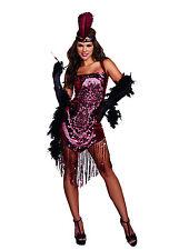 GATSBY GIRL New Adult Halloween Christmas Womens Sexy Costume Dreamgirl Medium