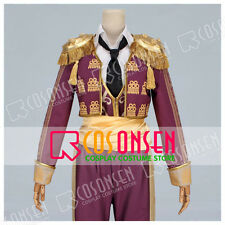 Cosonsen APH Axis Powers Hetalia Spain Cosplay Costume with Shining Epaulette