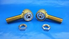 "7/8"" x 9/16""  Bore Panhard Chromoly Rod End Kit With Jams, Heim Joints,  Flex"