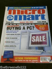 MICRO MART - ATHLON 6-4 MOTHERBOARDS - AUG 19 2004