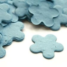 Cornflower Blue Five Petal Plantable Wildflower Seed Recycled Paper Confetti