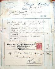 1928 LOTTODI DOCUMENTI PUBBLICITARI DI BAGNACAVALLO (RAVENNA)