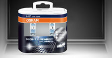 100% Original Osram Night Breaker Unlimited Headlight Bulbs Bulb H7 55W