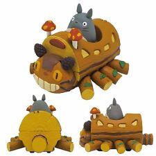 Ensky Studio Ghibli Pullback Collection My Neighbor Totoro Handmade Cat Bus NEW
