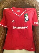 UNDER ARMOUR TOLUCA  MEXICO SOCCER/FUTBOL NEW WITH TAGS JERSEY SIZE 2XL MENS