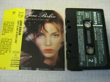 JANE BIRKIN K7 AUDIO FRANCE BABY ALONE IN BABYLONE