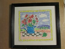 SALLY HUSS LIMITED EDITION LITHOGRAPH, SIGNED & NUMBERED