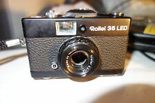 Rollei 35 LED black film camera Triotar 40/3.5 Singapore please read