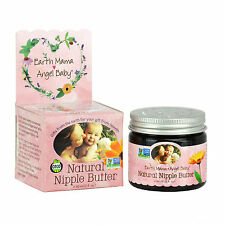 Earth Mama Angel Baby Natural Nipple Care Butter Organic Balm Lanolin-free 60ml