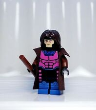 A158 Lego CUSTOM PRINTED X Men Force Superhero INSPIRED GAMBIT MINIFIG Rogue