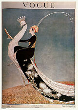 Vintage Vogue Cover April 1918 Poster Art Print