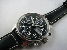 Zeno aviador-chronograph funcionan Valjoux 7760