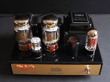 STEREO TUBE AMPLIFIER INSPIRE by DENNIS HAD KT88 TUBE SINGLE ENDED AMPLIFIER