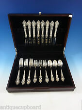 ELOQUENCE BY LUNT STERLING SILVER FLATWARE SERVICE FOR 8 SET 32 PIECES