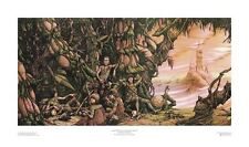 The rolling stones another time, another place ii ltd ed rodney matthews imprimer
