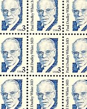 1986 - DR. PAUL DUDLEY WHITE - #2170 Mint -MNH- Sheet of 100 Postage Stamps