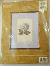 Bucilla Windsor Hydrangea 8x10 #43559 Counted Cross stitch Crafts Sewing New