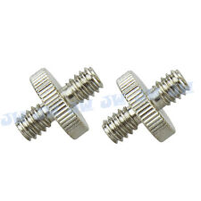 "2pcs 1/4"" Male Threaded to 1/4"" Male Threaded Double Male Screw Adapter"