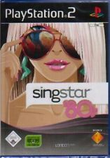 Playstation 2 singstar 80s karaoké chanter comme neuf