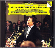 New Year's Concert from Vienna 1991 Claudio ABBADO CD Neujahrskonzert aus Wien