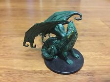 LARGE GREEN DRAGON War of the Dragon Dungeons and Dragons / Pathfinder Mini