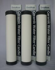 "DOULTON STERASYL SLIMLINE 10"" CERAMIC WATER FILTER CARTRIDGE - Pack of Three"