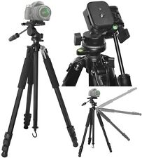"True Professional 80"" Tough Duty Tripod With Case For Nikon D50 D80 D3200 D3000"