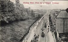 Highgate. Archway Road from Top of Highgate Archway # 1747 by Charles Martin.