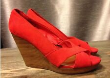 H & M Wedges Heels Shoes Size 9