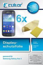 6x Samsung Galaxy Ace 3 Film de protection d'écran protecteur cristal clair