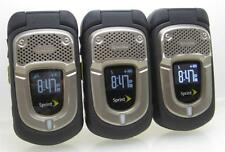 Lot of 3 Kyocera DuraXT E4277 Cell Phones (Sprint) Clean ESN