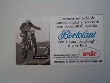 advertising Pubblicità 1975 BERTOLANI e MOTO KTM e PAOLO MILANI