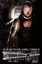 WWE 2007 NO WAY OUT UNDERTAKER PPV POSTER FREE SHIPPING! ROLLED NEVER FOLDED WWF