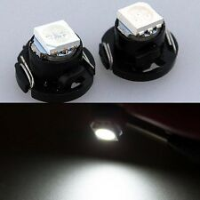 2x White T4.7 LED SMD Car Light Bulb Rear interior light For 99-04 VW GOLF MK4