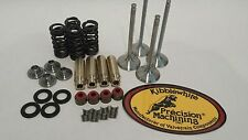 04 05 TRX450R TRX 450R +1 mil 1mm Kibblewhite Valves Springs Head Rebuild Kit