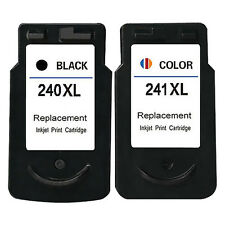 2PK PG 240XL CL 241XL Ink Cartridge for Canon PIXMA MG2120 MG3120 MG3122 MG3220
