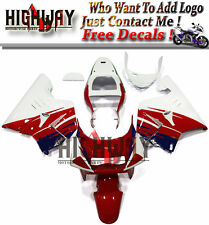 White Red Full Fairings Fit Honda NSR250R NC21 90-93 ABS Fairing Kit Bodywork HG