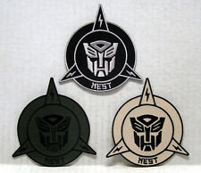 """Transformers NEST Logo 3.5"""" Embroidered Patch Set of 3 (TRPA-NEST3)"""