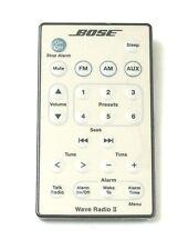 Genuine Bose Wave Radio II remote control (White)-- New