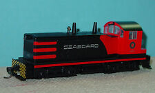 KATO EMD NW2 SWITCH LOCOMOTIVE - SEABOARD RAILROAD - HO SCALE - USED VG