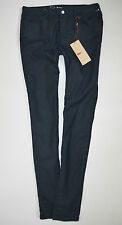 NEW Ladies LEVI'S LEGGING Stretch Blue SKINNY JEANS womans size W28 L30 uk 10