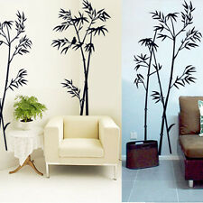 DIY Removable Bamboo PVC Art Vinyl Wall Sticker Home Room Mural Decor