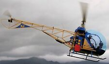 Canadian Home Rotors Safari Kit Helicopter Handcrafted Wood Model Regular New