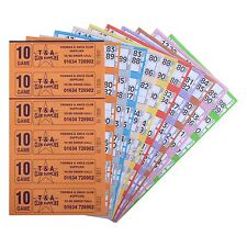 Bingo Tickets 750 10 Page 6 To View Bingo Books