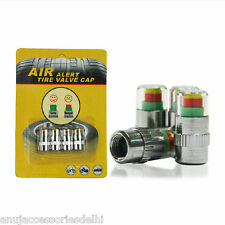 Kozdiko-Air Alert Tire tyre Valve Cap for all cars -Set of 4Pcs.