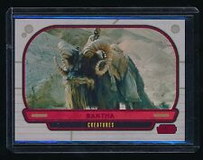 BANTHA 2012 STAR WARS GALACTIC FILES RED FOIL #308 30/35