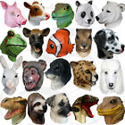 Latex Realistic Animal Head Cosplay Masquerade Fancy Dress Props Carnival Masks