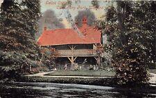 WATFORD HERTFORDSHIRE UK~SWISS COTTAGE~CASSIOBURY PARK~VALENTINE POSTCARD 1904
