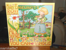 MARY ENGELBREIT 2011 WALL CALENDAR ALL THE HAPPINESS YOU CAN HANDLE