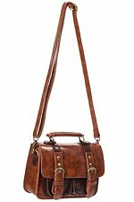Banned  Buckle Strap Womens Vintage Retro 50s Satchel Handbag